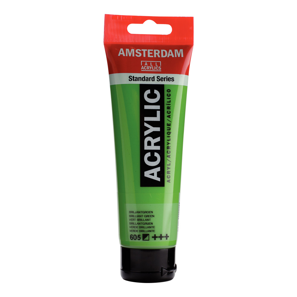 Amsterdam Acrylic 120Ml Brilliant Green