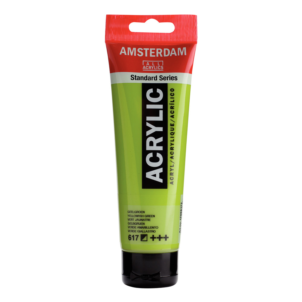 Amsterdam Acrylic 120Ml Yellowish Green