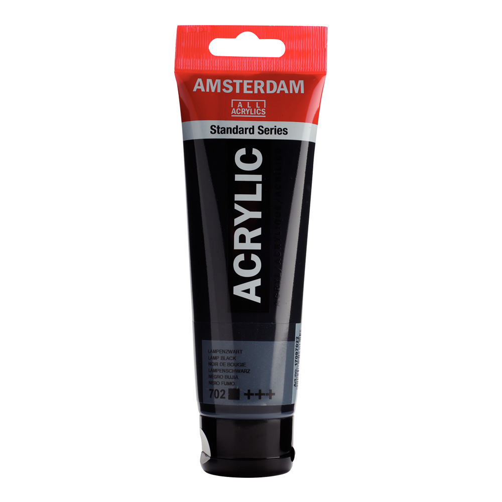 Amsterdam Acrylic 120Ml Lamp Black