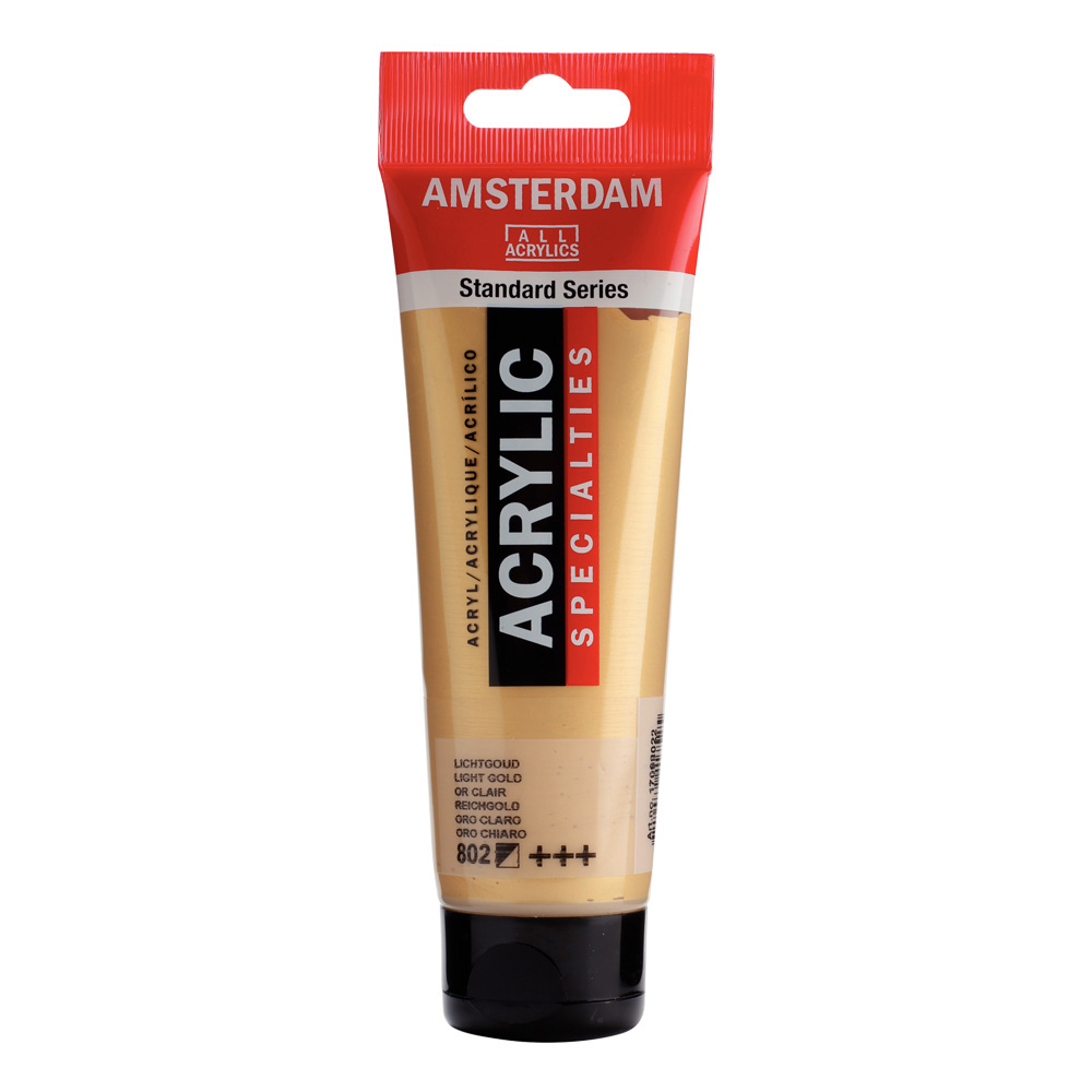 Amsterdam Acrylic 120Ml Light Gold