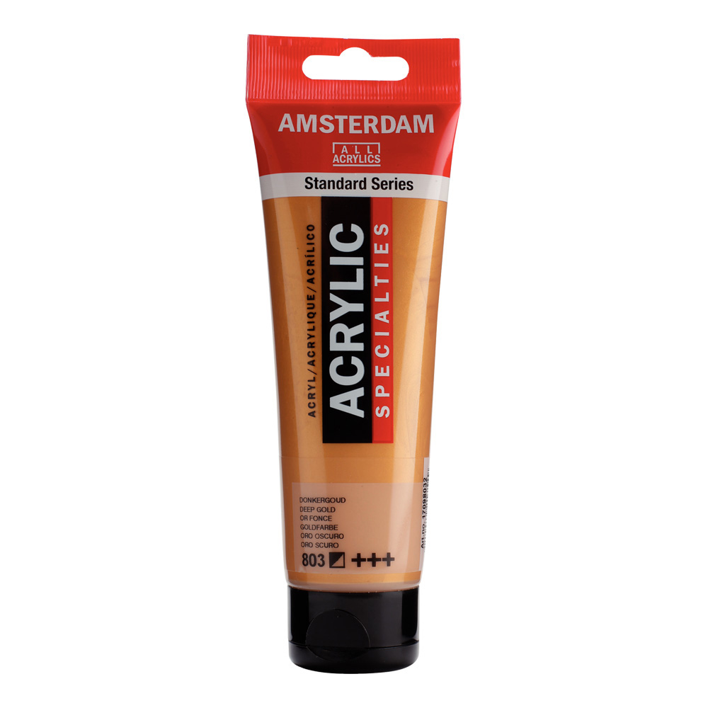 Amsterdam Acrylic 120Ml Deep Gold