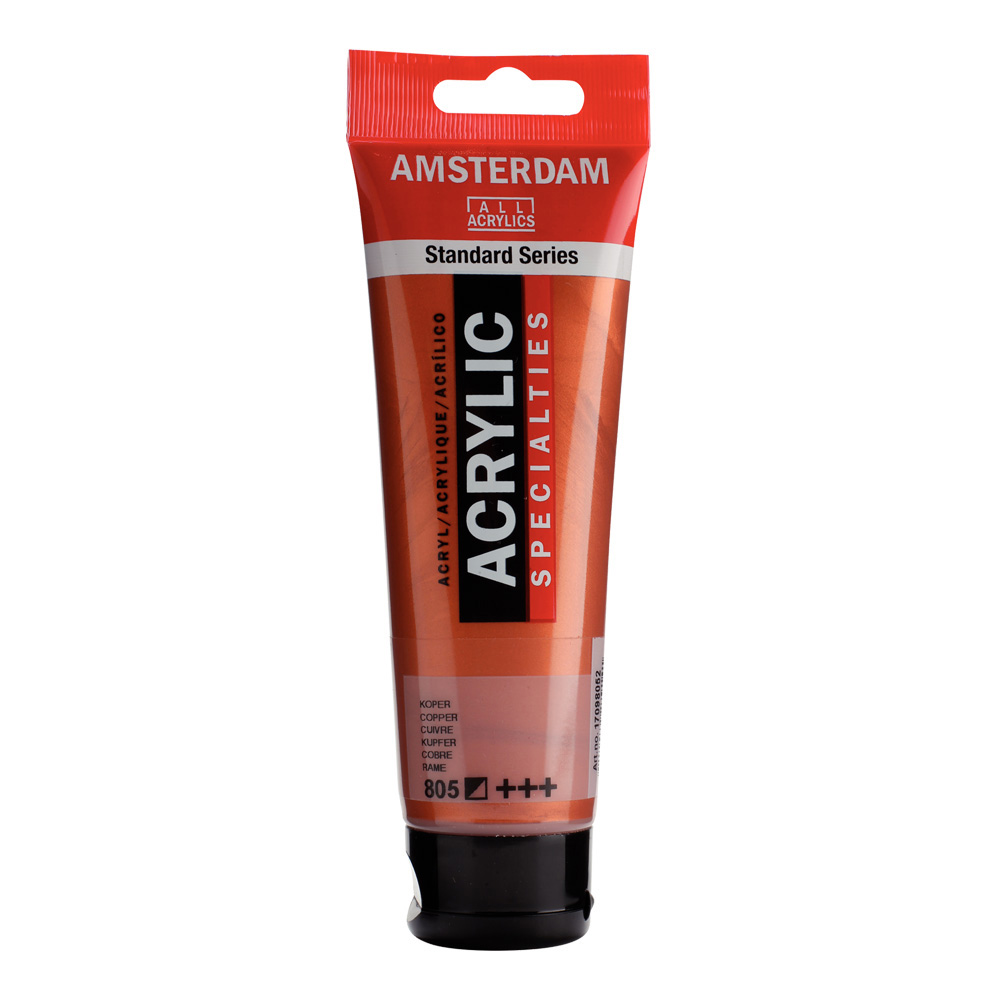 Amsterdam Acrylic 120Ml Copper