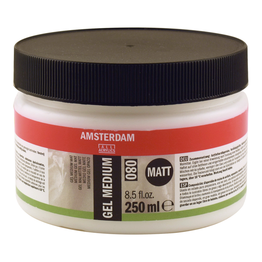 Amsterdam Gel Medium Matte 250Ml