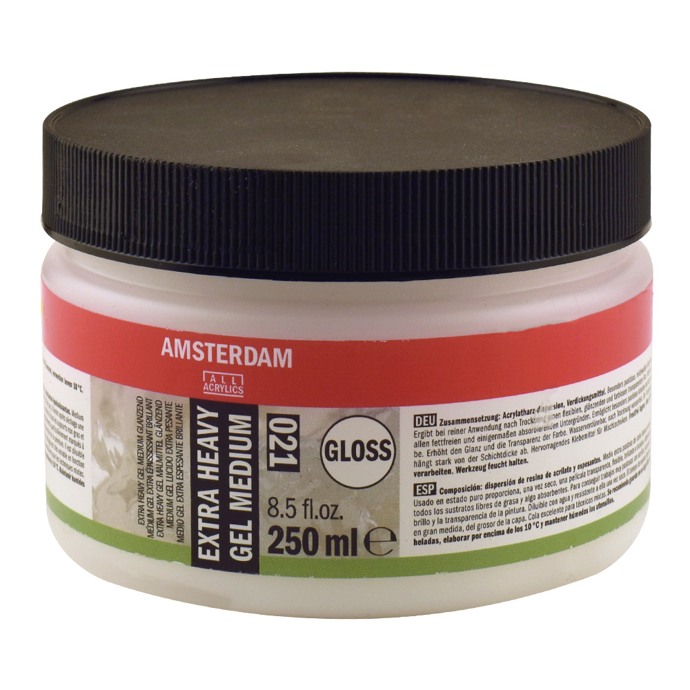 Amsterdam X-Heavy Gel Medium Glossy 250Ml