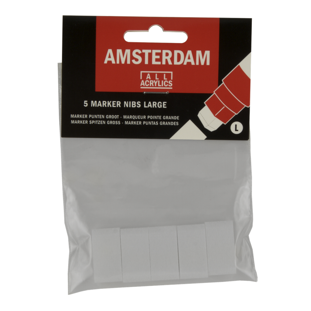 Amsterdam Paint Marker 15Mm Nibs 5 Pk
