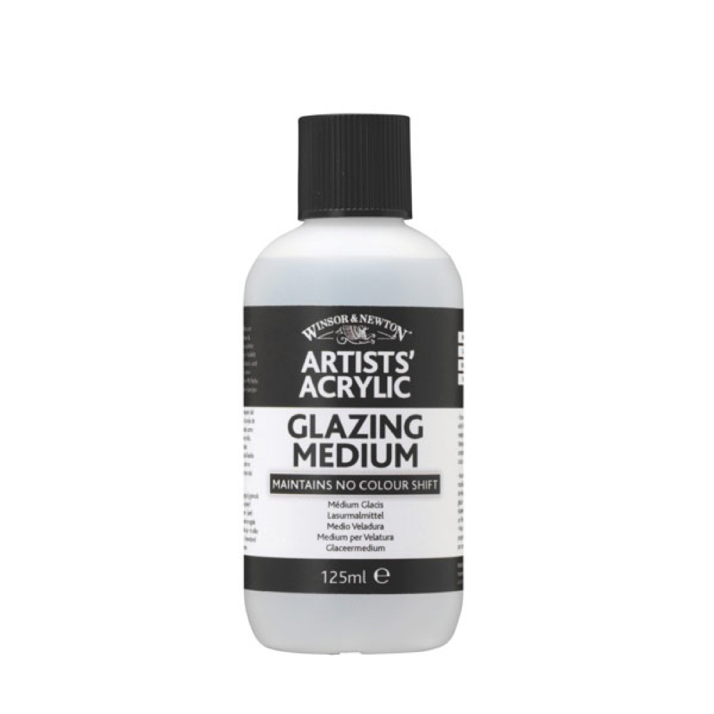 W&N Artist Acrylic Glazing Medium 4.25 Oz