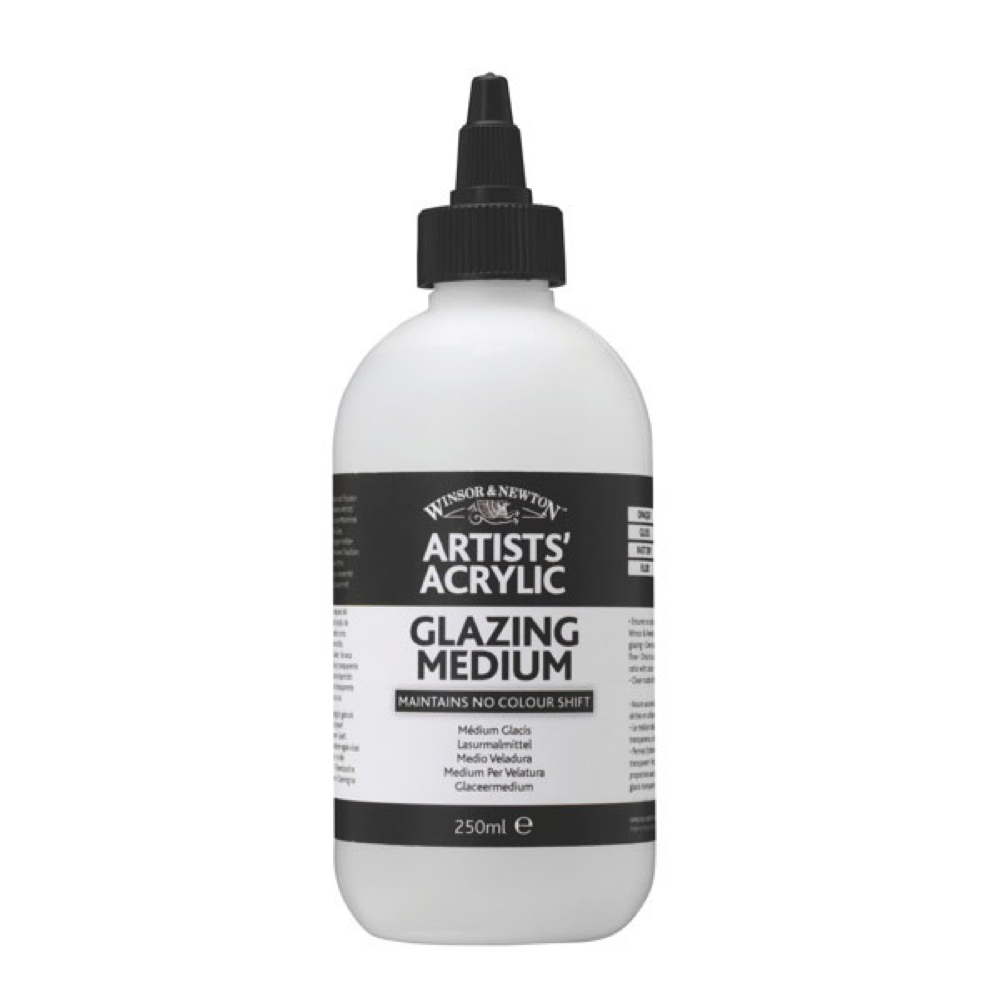 W&N Artist Acrylic Glazing Medium 8.5 Oz