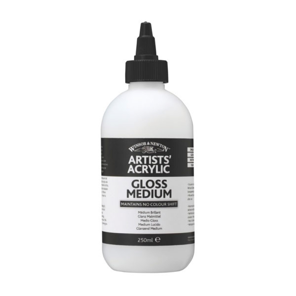 W&N Artist Acrylic Gloss Medium 8.5 Oz