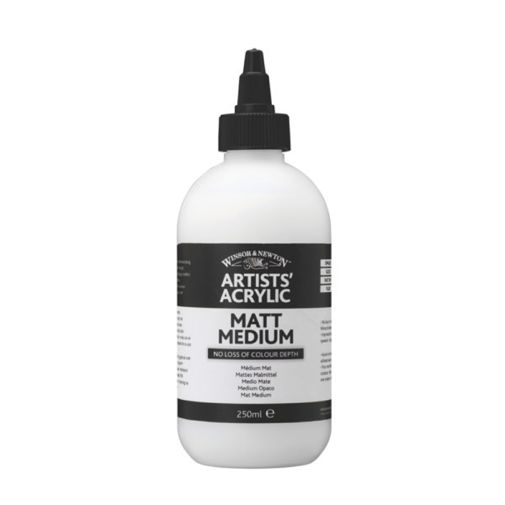 W&N Artist Acrylic Matt Medium 8.5 Oz