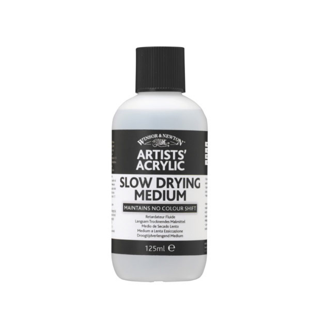 W&N Artist Acrylic Slow Dry Medium 4.25 Oz