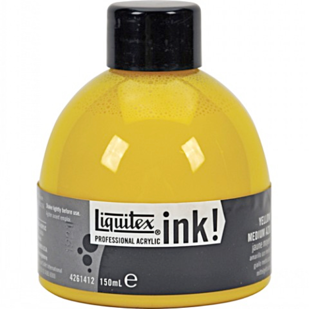 Liquitex Acrylic Ink 150Ml Yellow Med Azo