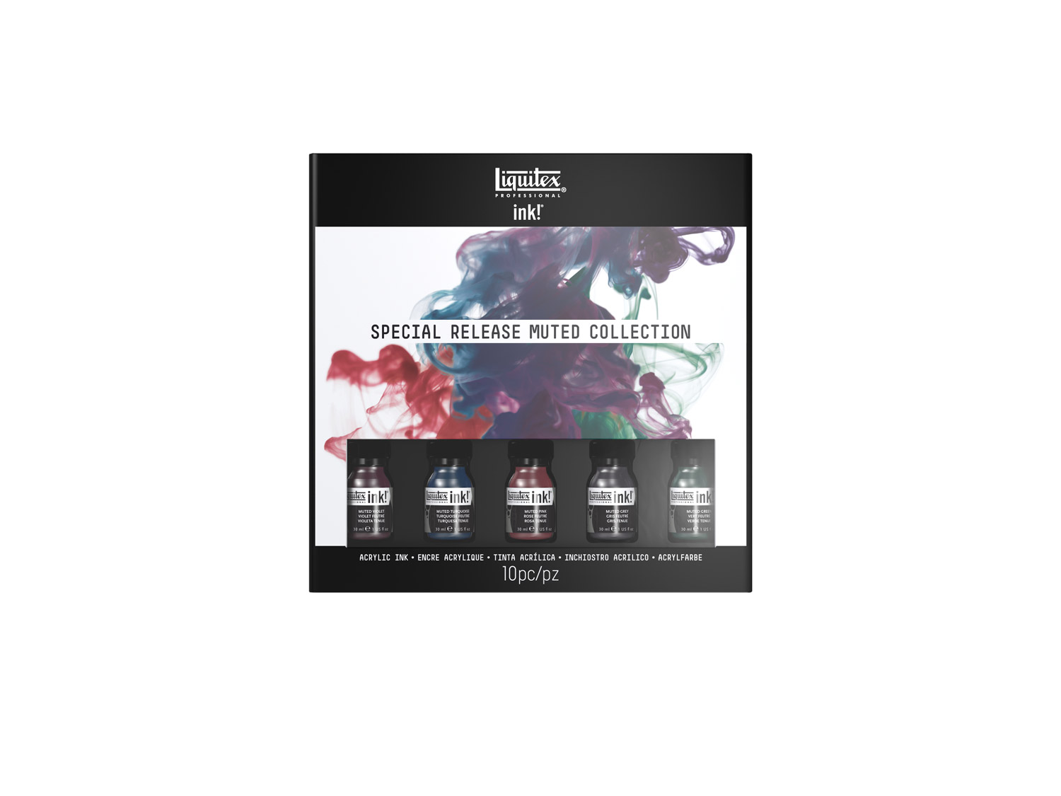 Liquitex Acrylic Ink Muted Collection 5 Pack