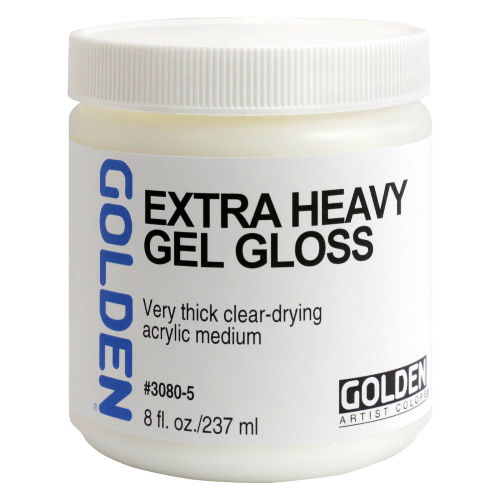 Golden Acryl Med 8 Oz X-Heavy Gel Gloss