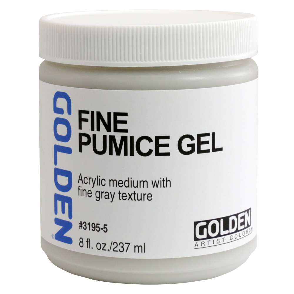 Golden Acryl Med 8 Oz Fine Pumice Gel