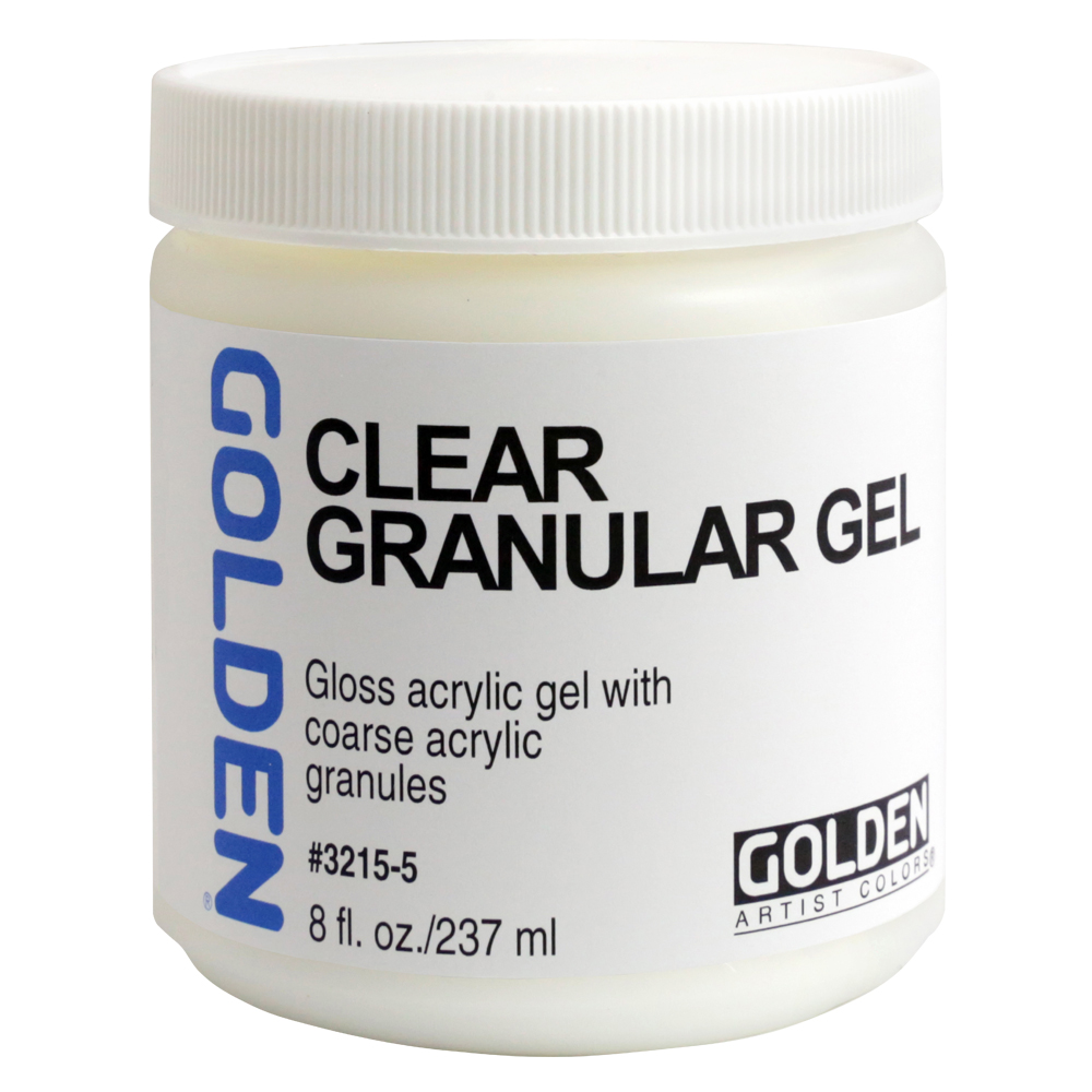 Golden Acryl Med 8 Oz Clear Granular Gel