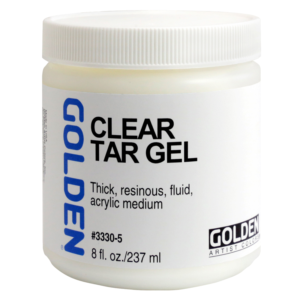 Golden Acryl Med 8 Oz Clear Tar Gel