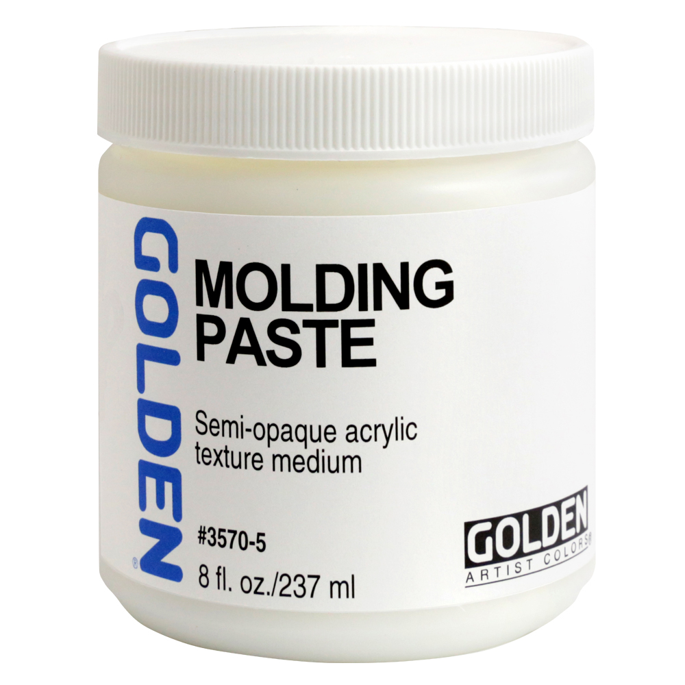Golden Acryl Med Molding Paste 8 Oz
