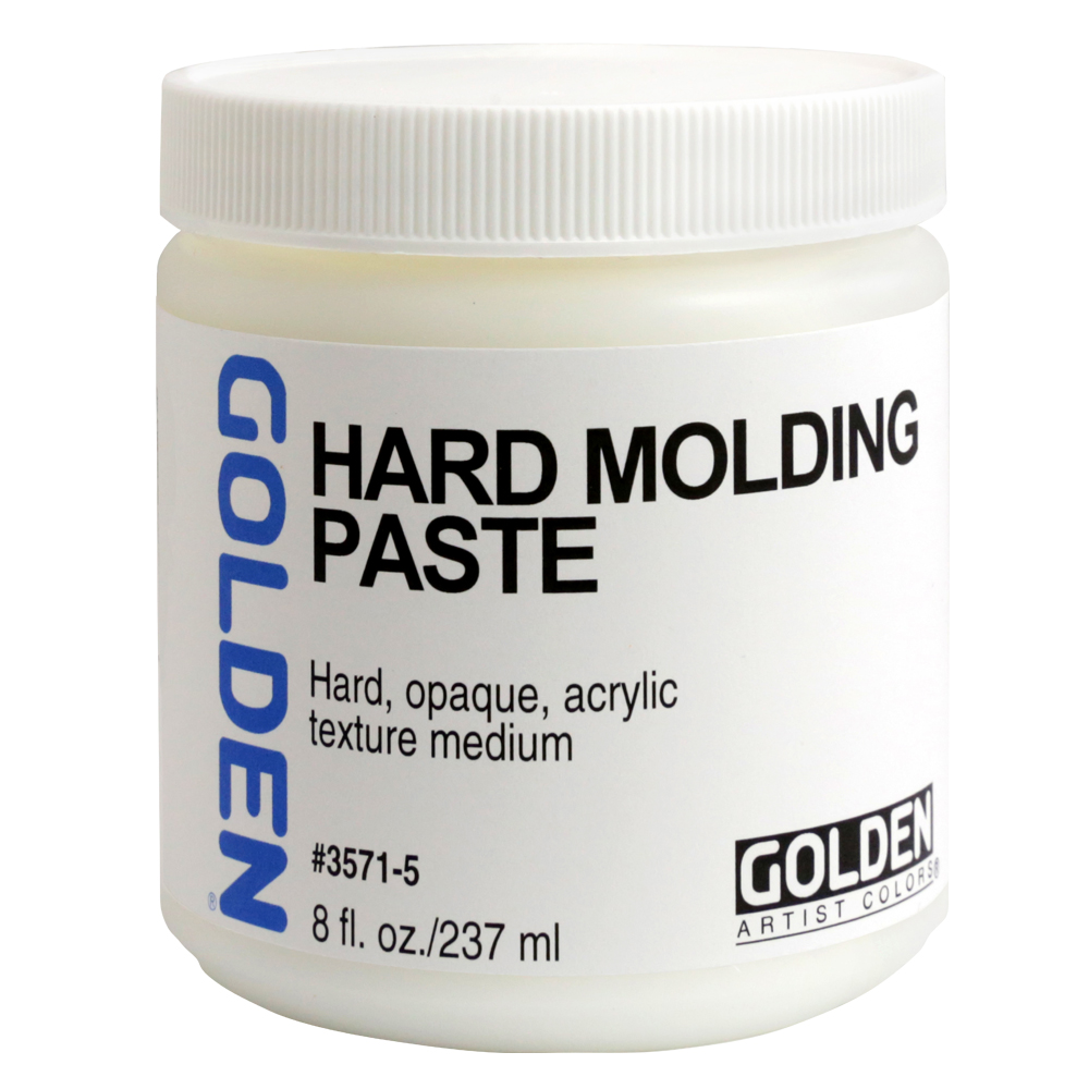 Golden Acryl Med 8 Oz Hard Molding Paste
