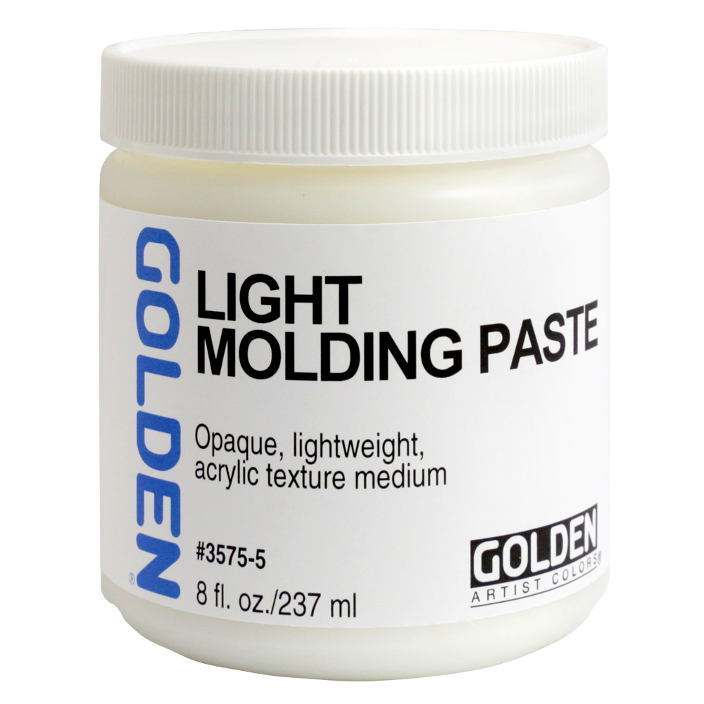 Golden Acryl Med 8 Oz Light Molding Paste