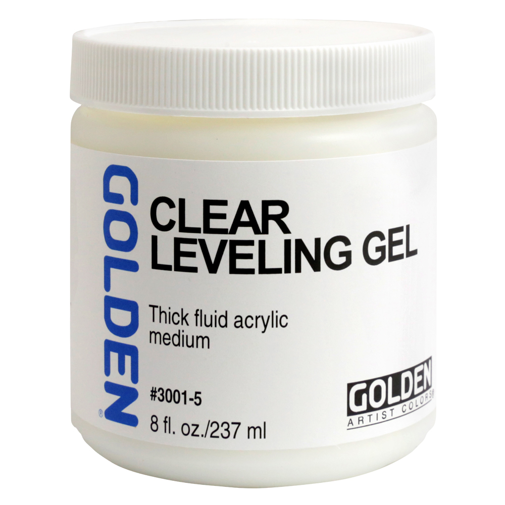 Golden Acryl Med 16 Oz Self-Level Clear Gel
