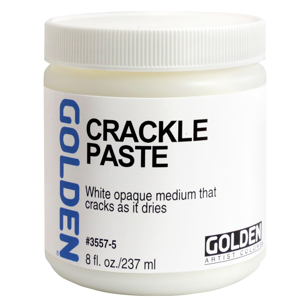 Golden Acryl Med Crackle Paste 8 Oz