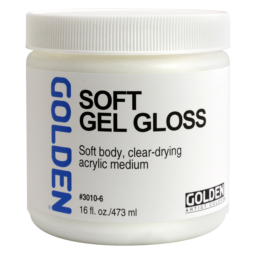 Golden Acryl Med 16 Oz Soft Gel Gloss