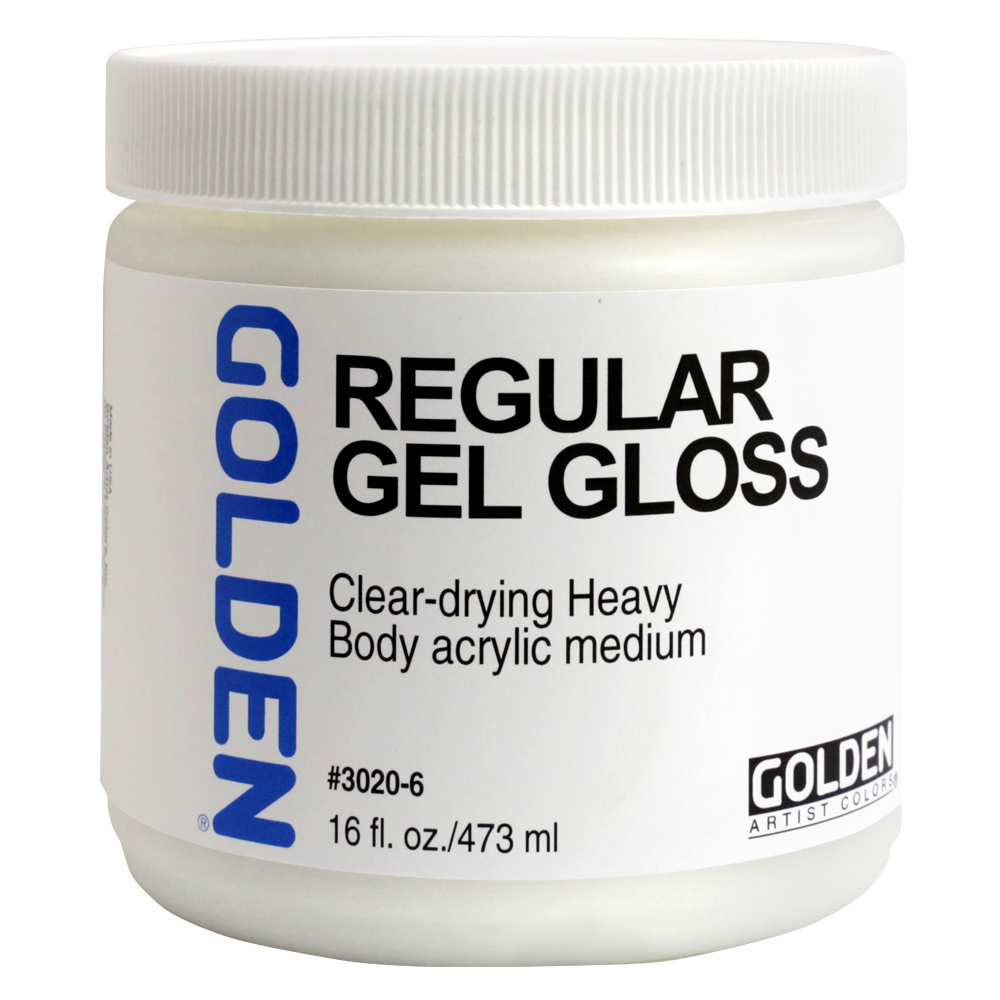 Golden Acryl Med 16 Oz Regular Gel Gloss