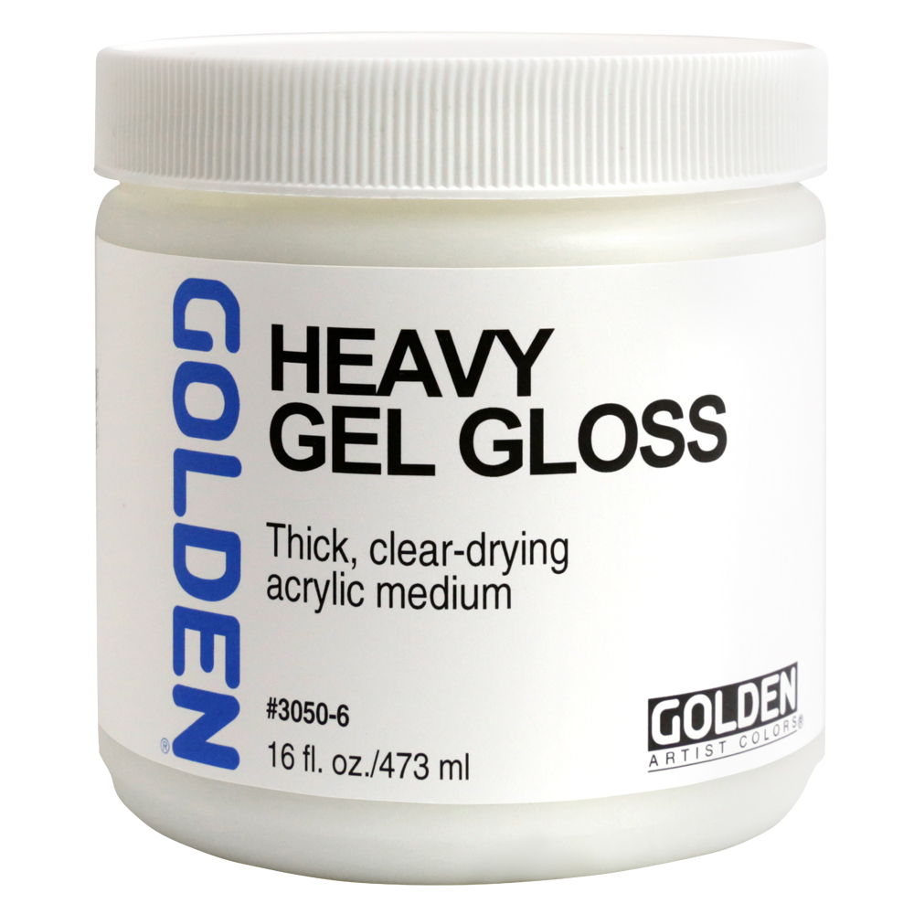 Golden Acryl Med 16 Oz Heavy Gel Gloss