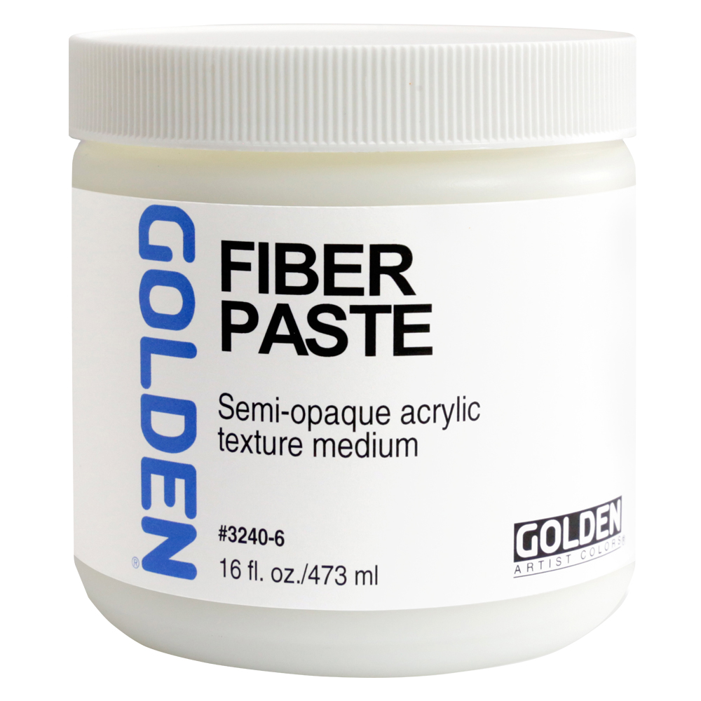 Golden Acryl Med 16 Oz Fiber Paste