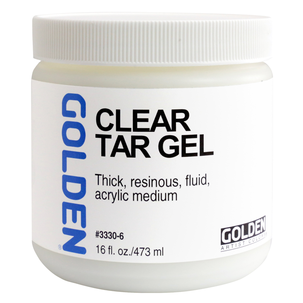 Golden Acryl Med 16 Oz Clear Tar Gel