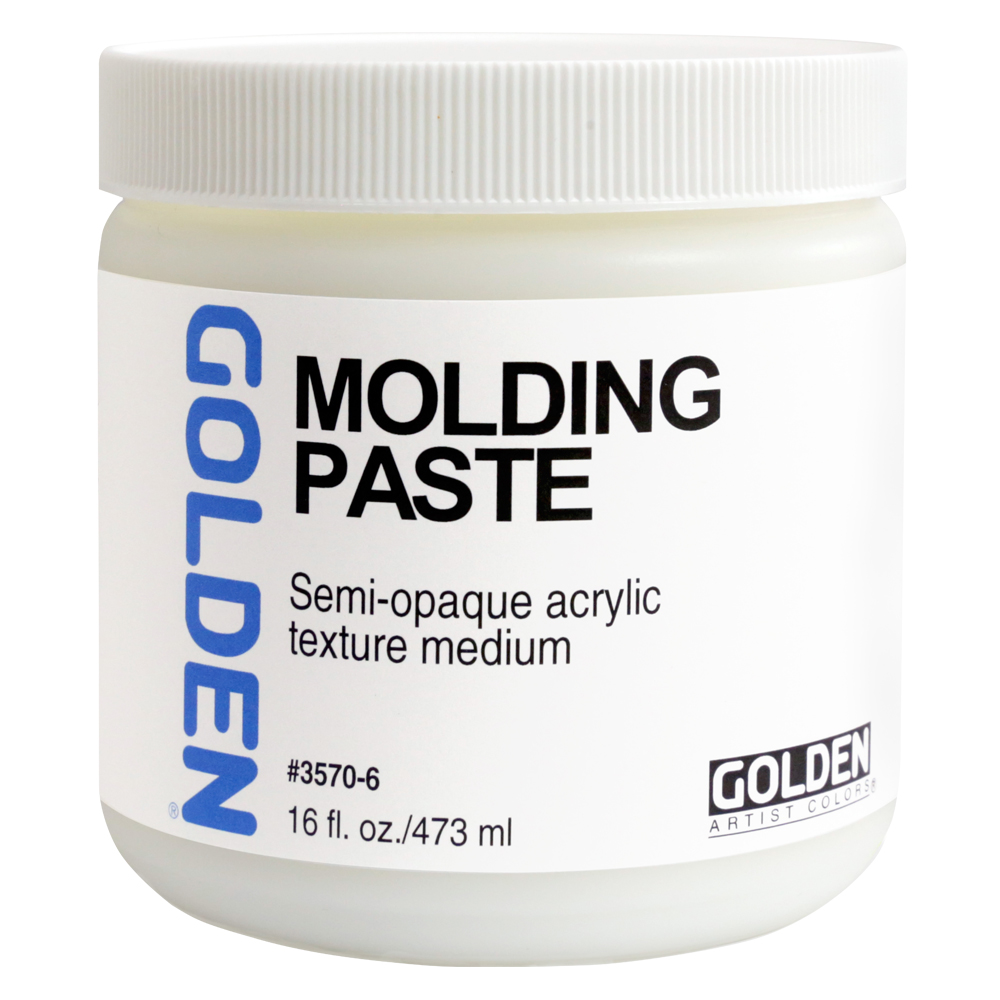 Golden Acryl Med 16 Oz Molding Paste