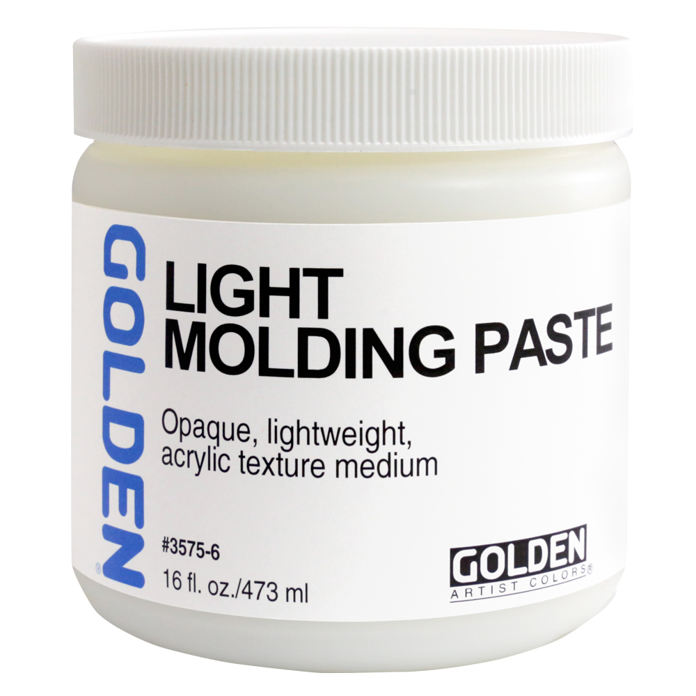 Golden Acryl Med 16 Oz Light Molding Paste