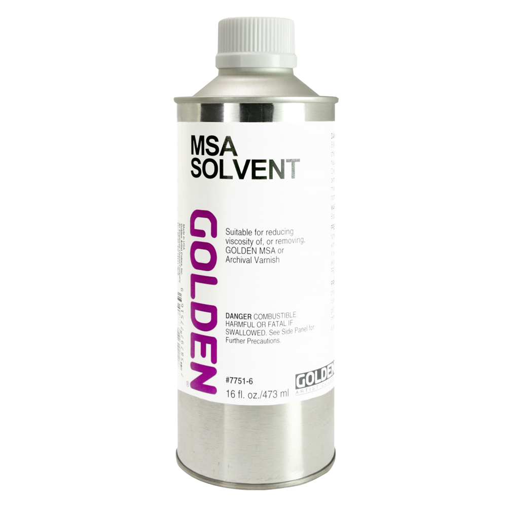 Golden MSA Varnish Solvent 16 Oz