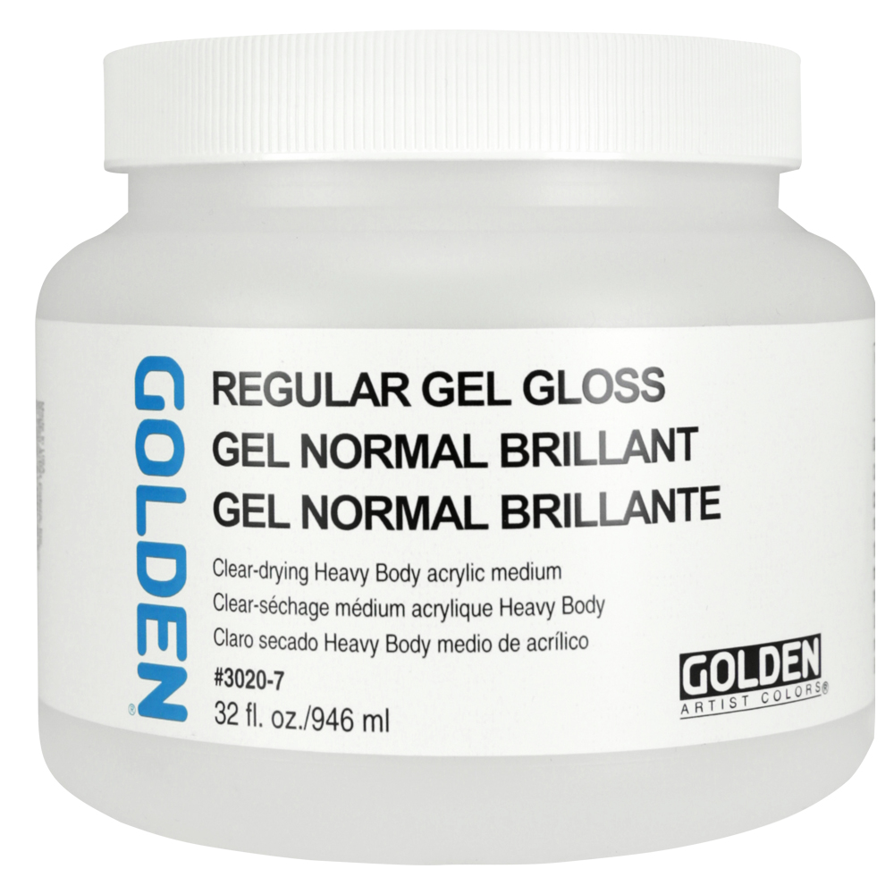 Golden Acryl Med 32 Oz Regular Gel Gloss
