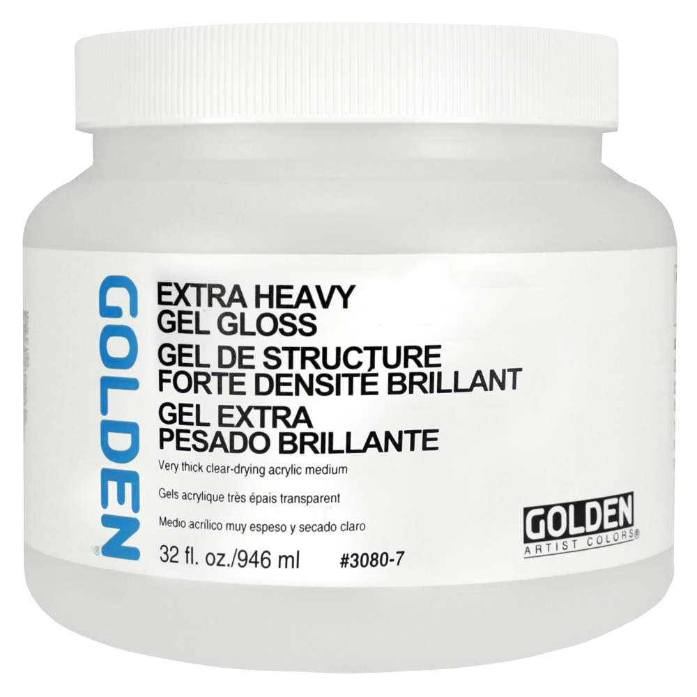 Golden Acryl Med 32 Oz X Heavy Gel Gloss