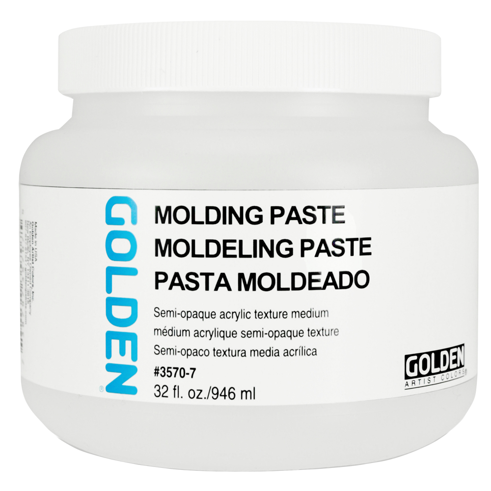 Golden Acryl Med 32 Oz Molding Paste