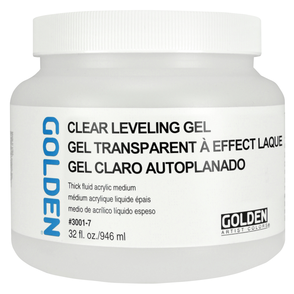 Golden Acrylic Clear Leveling Gel 32oz
