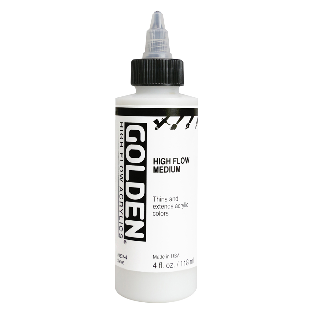 Golden Acryl Med 4 Oz Airbrush Transp Extend