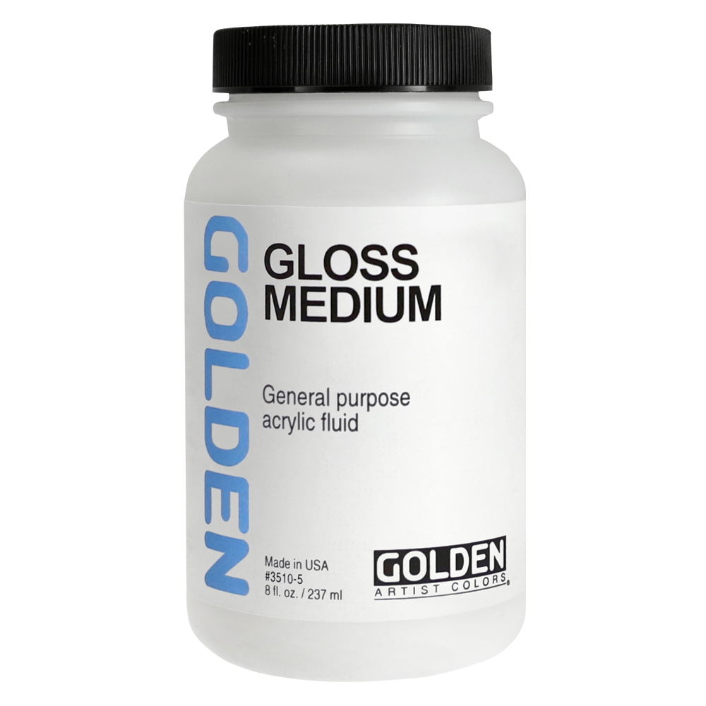 Golden Acryl Med 8 Oz Polymer Medium