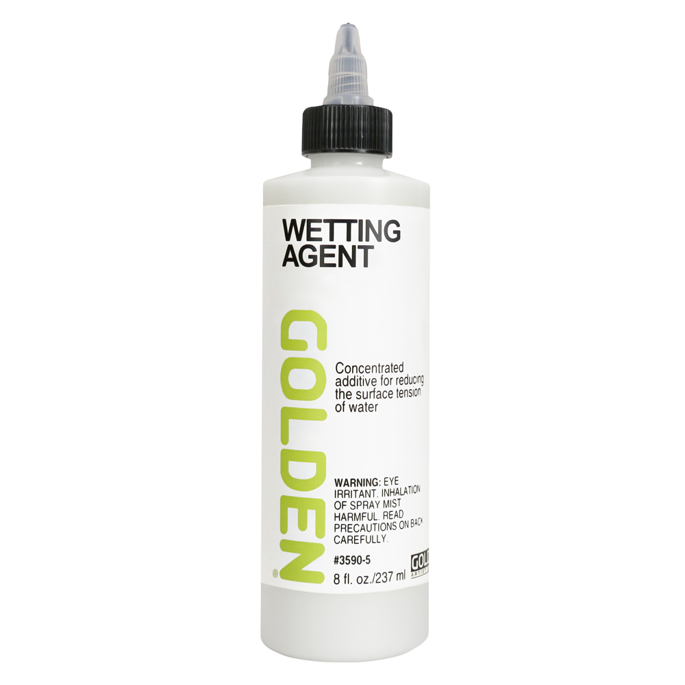 Golden Acrylic Medium Wetting Agent 8oz