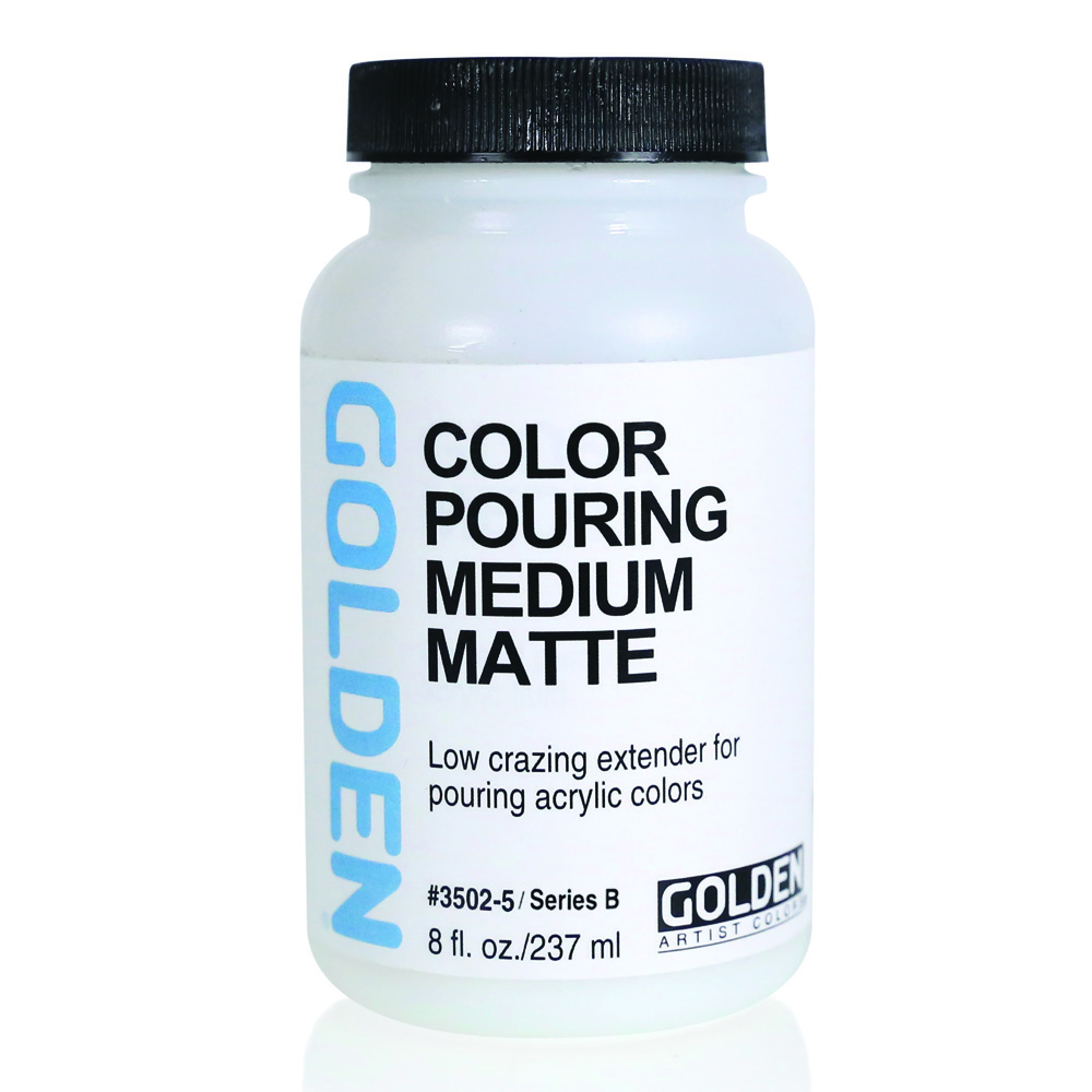 Golden Acryl Med Color Pouring Matte 8 Oz