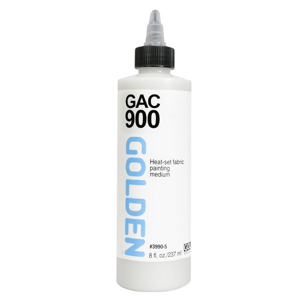 Golden Acryl Med 8 Oz Gac-900 Fabric Painting