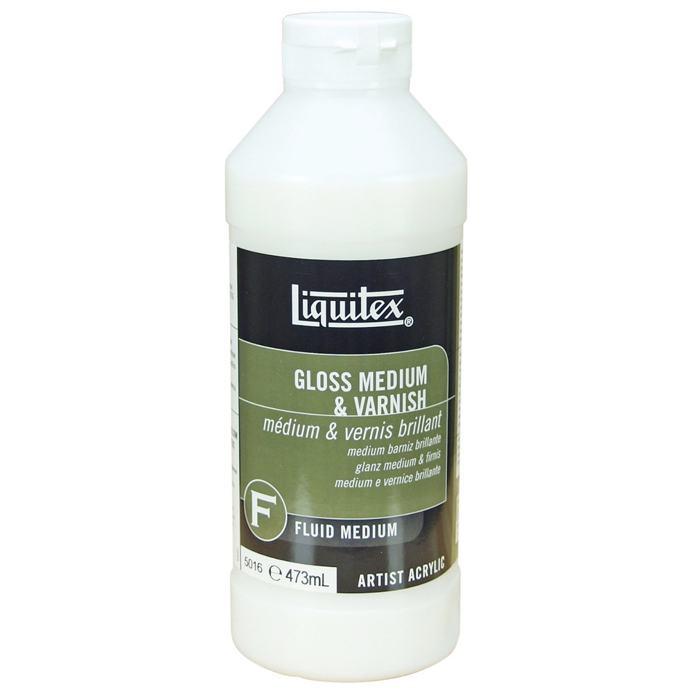 Liquitex Gloss Medium/Varnish 16 Oz