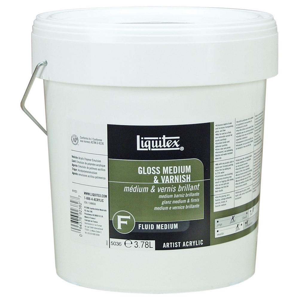 Liquitex Gloss Medium/Varnish Gallon