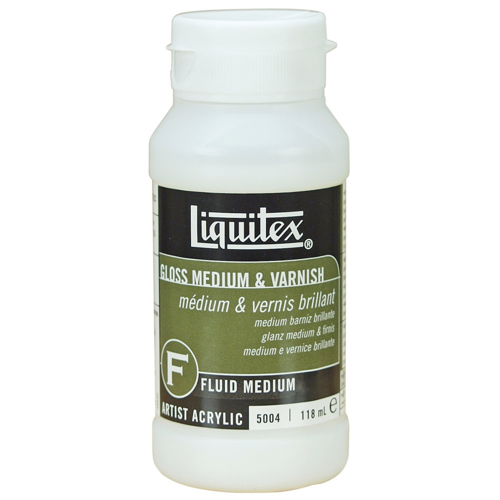 Liquitex Gloss Medium/Varnish 4 Oz