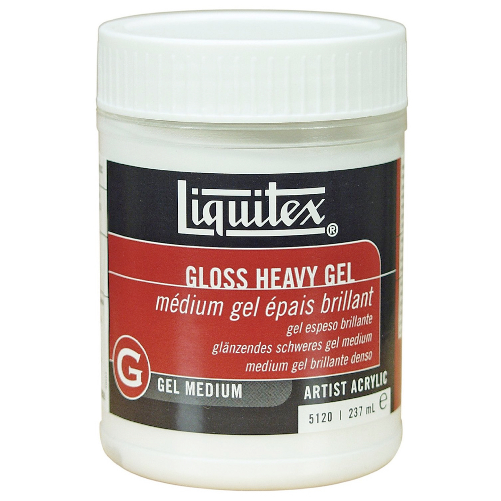 Liquitex Gloss Heavy Gel Medium 8 Oz