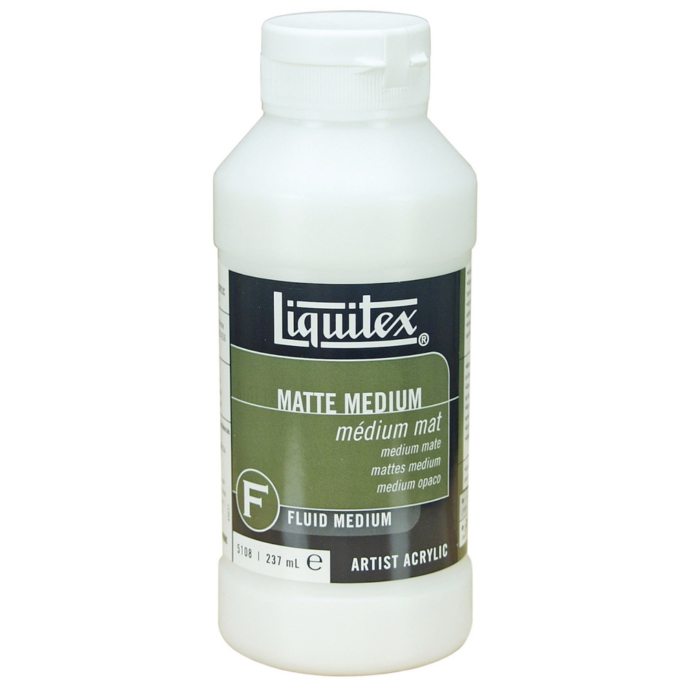 Liquitex Matte Medium 8 Oz