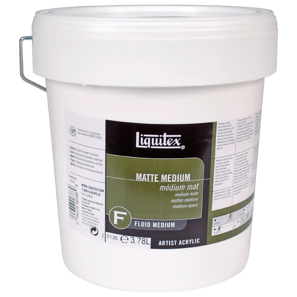 Liquitex Matte Medium Gallon
