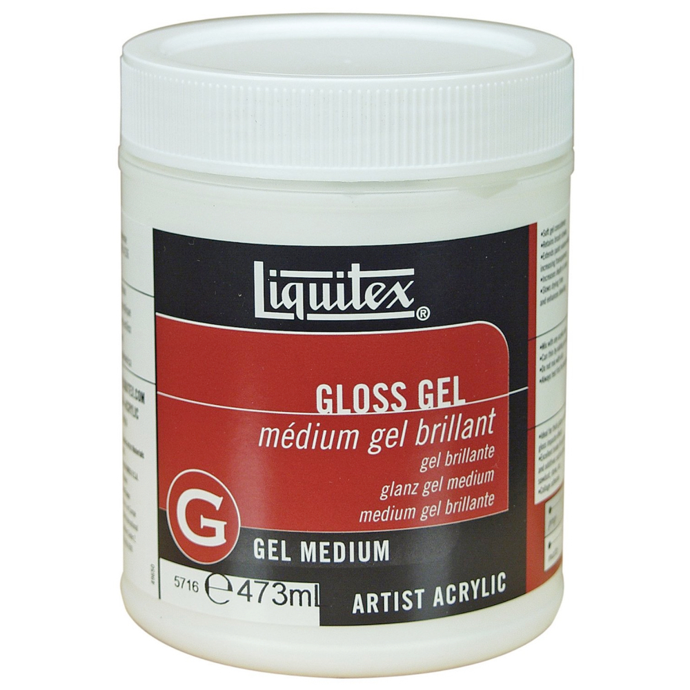 Liquitex Gloss Gel Medium 16 Oz
