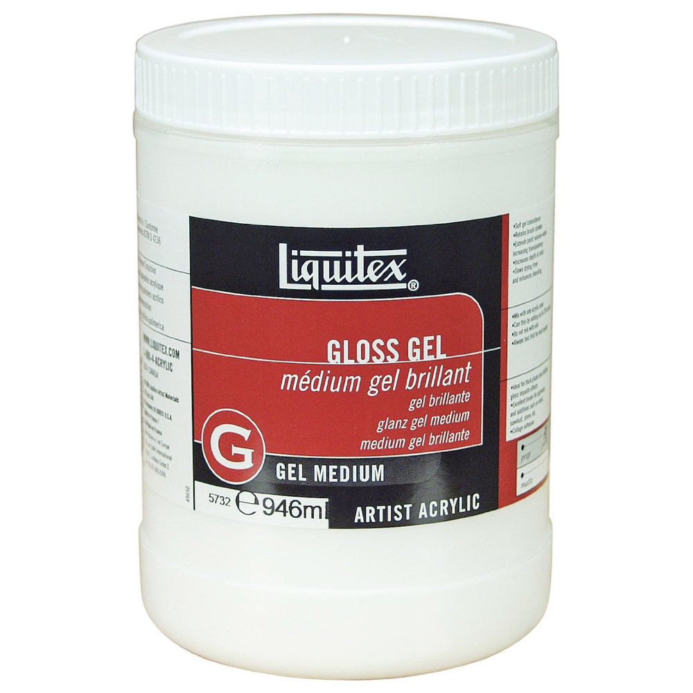 Liquitex Gloss Gel Medium 32 Oz